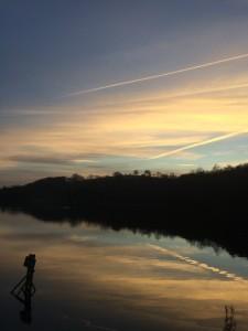 Sunset over Bathpool James Perkins